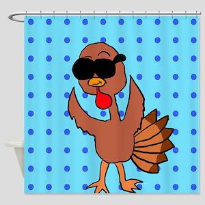 Turkey Celeb Shower Curtain. Shower Curtain