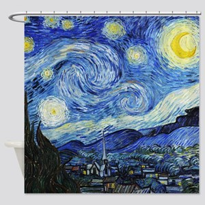 Van Gogh - Starry Night Shower Curtain