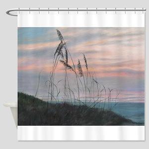 BEACH MORNING VIEW Shower Curtain