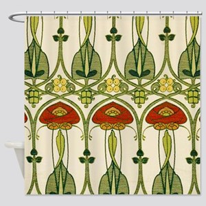 Belle Epoque Fabric Shower Curtain