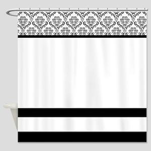 Elegant Damask Shower Curtain