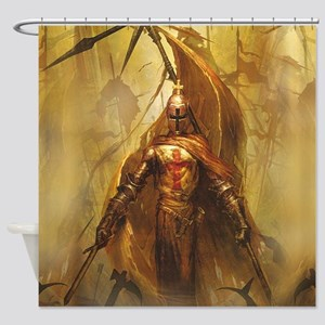 Templar Shower Curtain