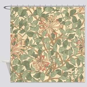 William Morris Honeysuckle Shower Curtain