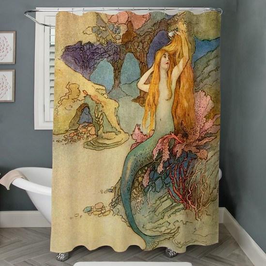 FROZEN Shower Curtain by TrishsTreasures - CafePress