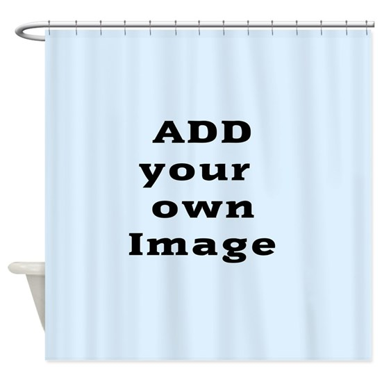 Add Image Shower Curtain