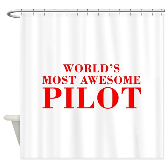 WORLDS MOST AWESOME Pilot-Bod red 300