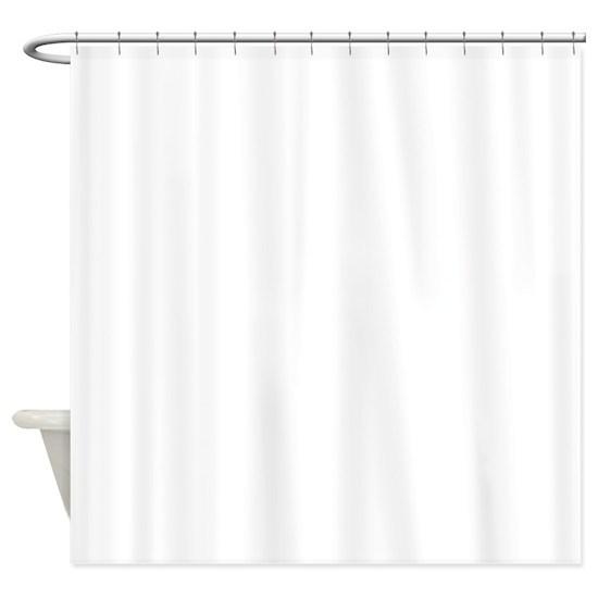half black half white shower curtain by ornaart cafepress. Black Bedroom Furniture Sets. Home Design Ideas