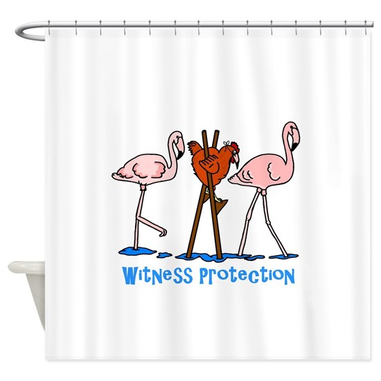 Witness Protection Flamingos and Chicken