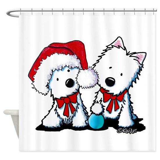 KiniArt Christmas Westies