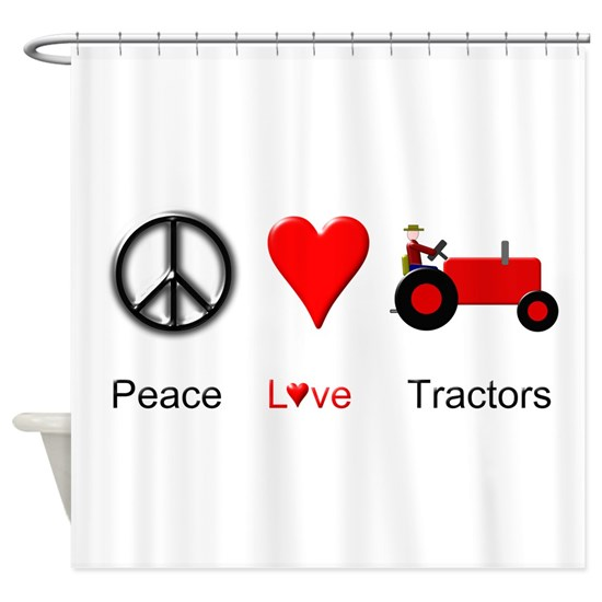 Peace Love Red Tractors