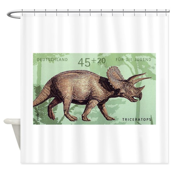 2008 Germany Triceratops Postage Stamp