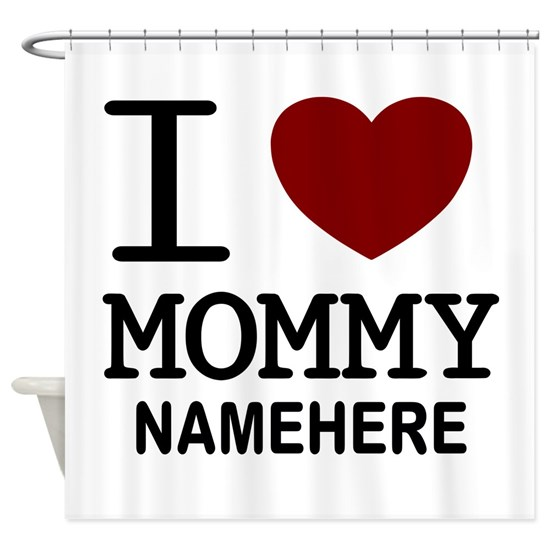 Personalized Name I Heart Mommy