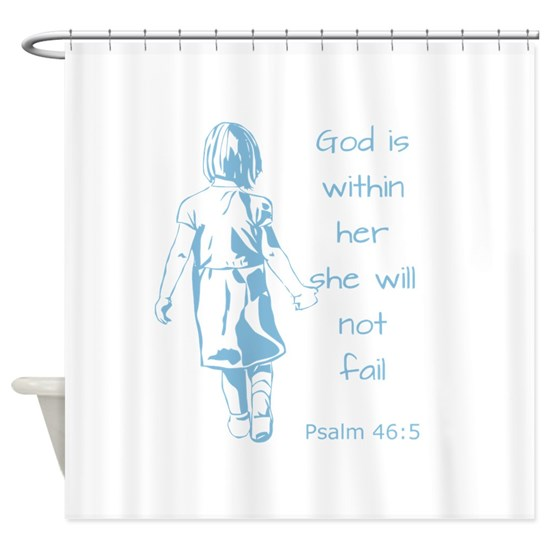 God in Her Inspirational Scripture Quote Psalm 46: