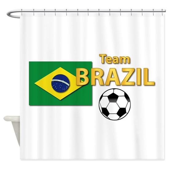 T-Shirt - Sport - Team Brazil w Soccer Ball