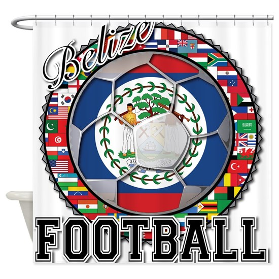 Belize Flag World Cup Football Soccer Ball