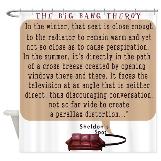 May The Fourth Be With You Big Bang Theory: The Big Bang Theory Shower Curtain By Starlightanne