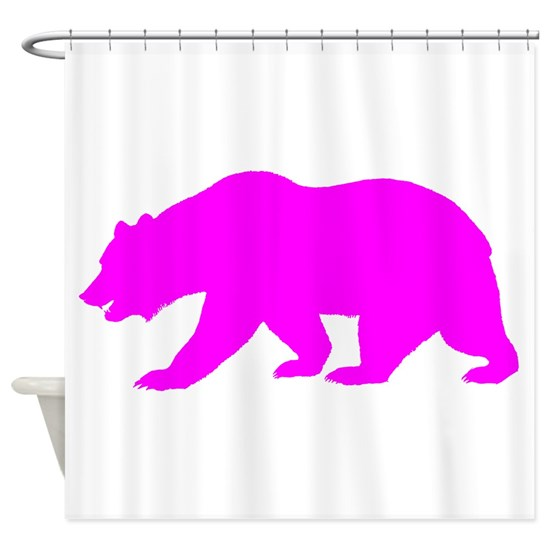 Pink California Bear