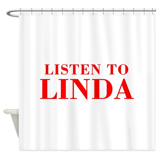 LISTEN TO LINDA-Bod red 300
