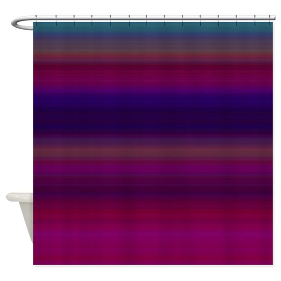 Raspberry Bathroom Accessories: Raspberry Bold Shower Curtain By Copper_Creek_Designs