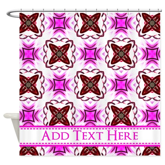 Girly Pink Purple Personalized