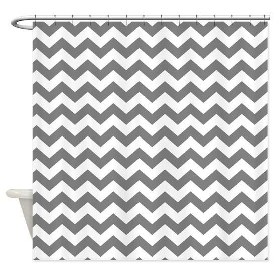chevron pattern gray