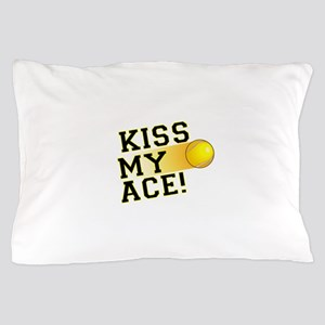 KissMyAce(tennis) copy Pillow Case