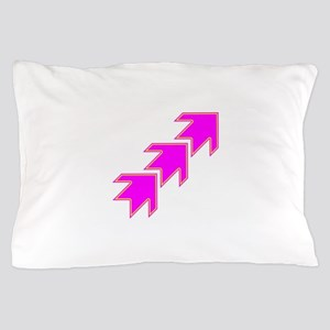 Pink Arrows Pillow Case
