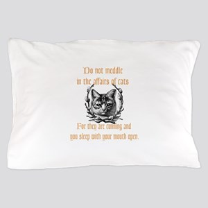 Affairs of Cats Pillow Case