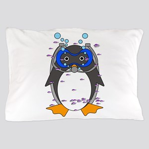 Scubaguin Pillow Case