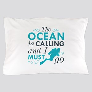 The Ocean Is Calling Pillow Case