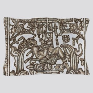 Mayan Ruler Pakal Kim Pillow Case