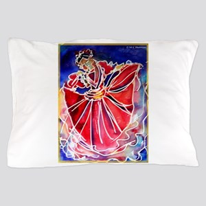 Fiesta, Mexican dancer, Pillow Case