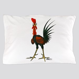 Crazy Rooster Pillow Case