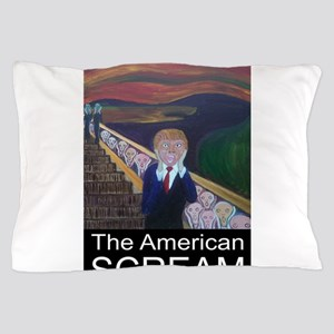 The American Scream Pillow Case
