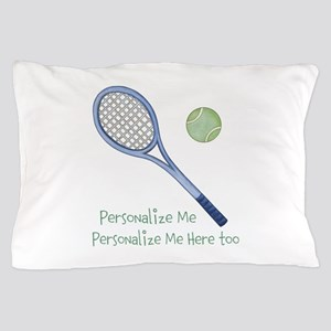 Personalized Tennis Pillow Case