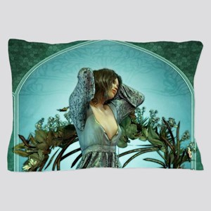 Art Nouveau Morning Pillow Case