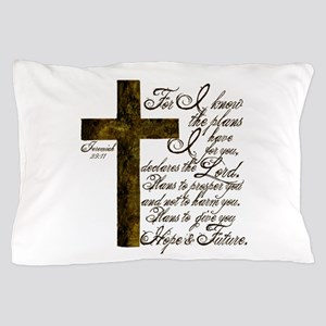 Plan of God Jeremiah 29:11 Pillow Case