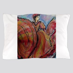 Mexican Dancer, Fiesta, Pillow Case