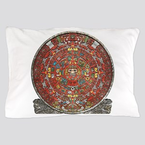 Mayan Calendar . Pillow Case