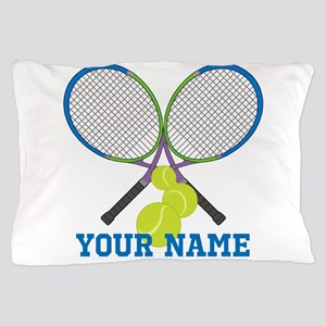 Personalized Tennis Player Pillow Case