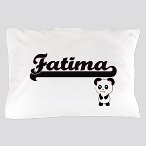 Fatima Classic Retro Name Design with Pillow Case