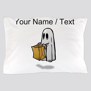 Custom Trick Or Treat Ghost Pillow Case