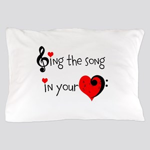 Heart Song Pillow Case