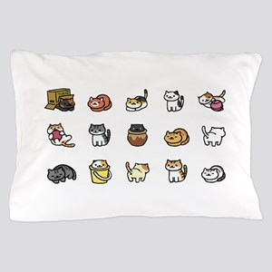 Neko Atsume Pillow Case