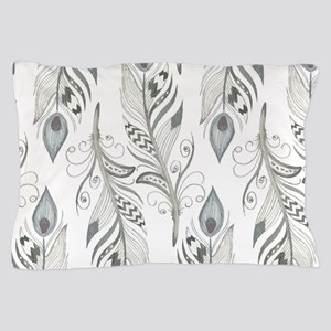 Beautiful Feathers Pillow Case