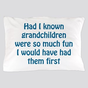fun grandchildren Pillow Case