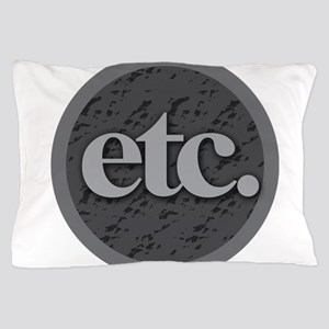 Etc. - Etc - Gray and Black Pillow Case