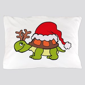 Turtle Christmas Pillow Case