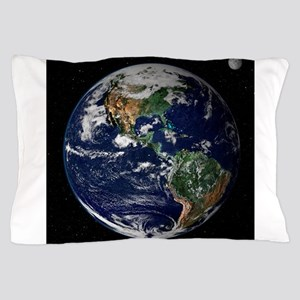 art Earth from space NASA Pillow Case