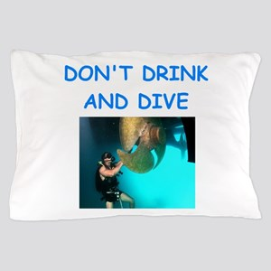 scuba diving Pillow Case